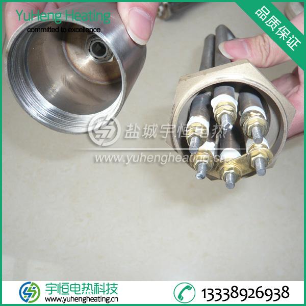 金属罩壳法兰电加热管