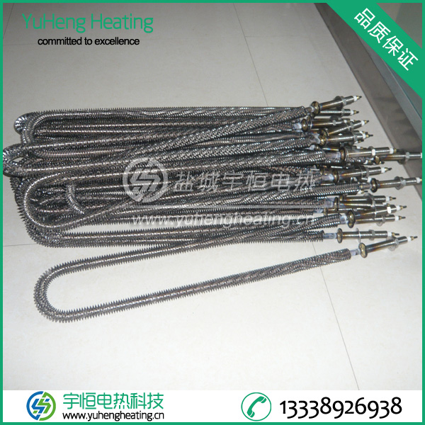 翅片式加热管采用优质不锈钢